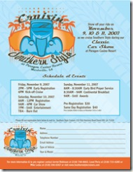 Car Show Registration Flyer